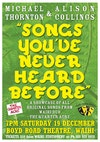 Songs You've Never Heard Before